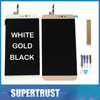 1PC/Lot For Cubot Dinosaur LCD Display+Touch Screen Digitizer Assembly Replacement White Gold Black Color With Tools 5.5Inch