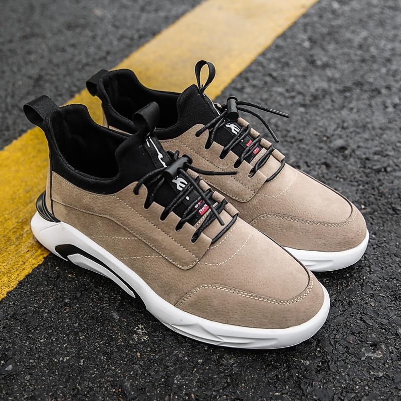 2018 Spring/Autumn Men's Vulcanize Shoes Fashion Sneakers Men Casual Shoes Flats Men Shoes Chaussure Homme Designer Sneakers 5