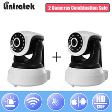hot deal buy lintratek security ip wifi camera wireless hd 720p surveillance cctv camera wifi ptz onvif p2p video surveillance baby monitor