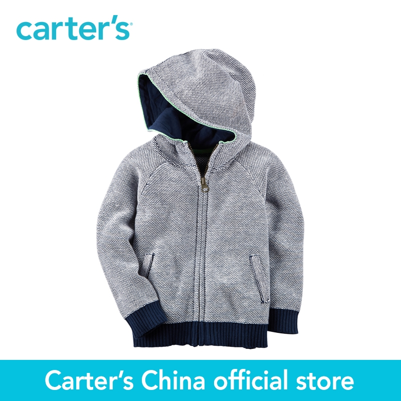 Carter's 1pcs baby children kids Zip-Up Dinosaur Hoodie 243G998,sold by Carter's China official store