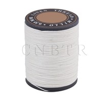 CNBTR 0 55mm Dia Flax Waxed Linen Craft Sewing Stitching Thread Cord
