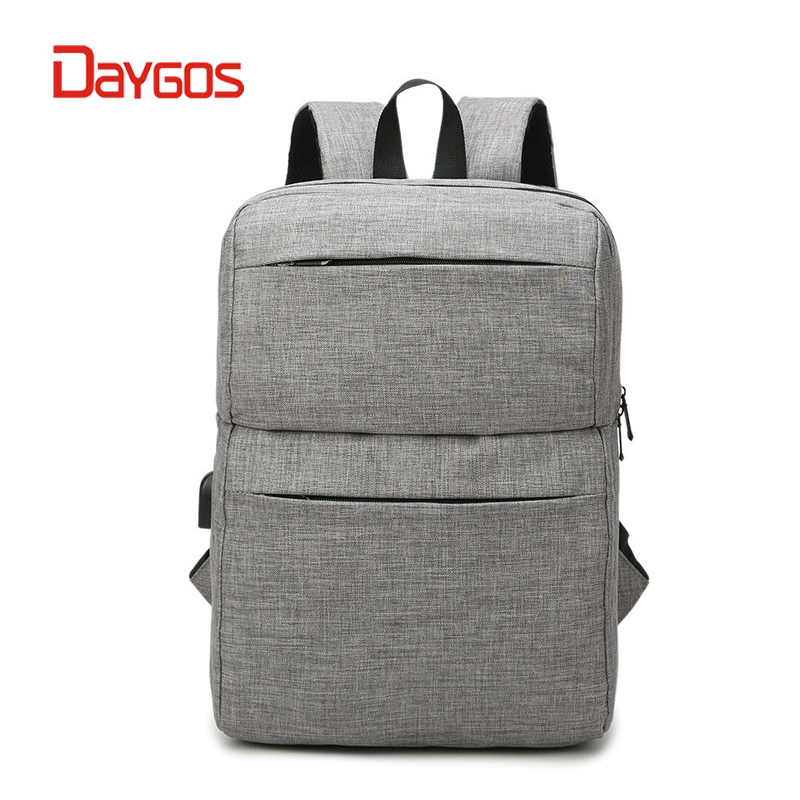 DAYGOS Men 15 inch Laptop Backpack Women Anti theft Backpack USB Charging Waterproof Mochila Feminina Casual Travel Back Pack arctic hunter design backpacks men 15 6inch laptop anti theft backpack waterproof bag casual business travel school back pack