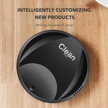 Intelligent Sweeping Robot Vacuum Cleaner Usb Charging Big Power Rechargeable Vacuum Cleaner For Home Good Assistant Clean Dust