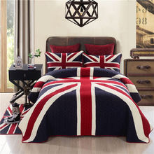 3 шт Комплект постельного белья в британском стиле