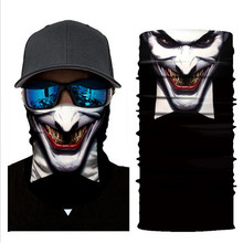 Biker Bandanas (5 pcs/lot) AC144-AC151 Outdoor Sports Hat Cycling Turban Head Scarf Face Mask