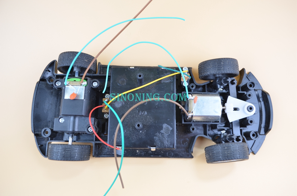 Fernbedienung sport auto Chassis racing drift Intelligente Roboter spielzeug auto kit chassis lenkung auto