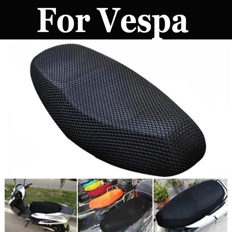 Mesh Motorcycle Moped Motorbike Scooter Seat Covers For Vespa Lx Lxv Sprint Primavera S 125 150ie Gts Gtv 250 300 Ie Lt 125