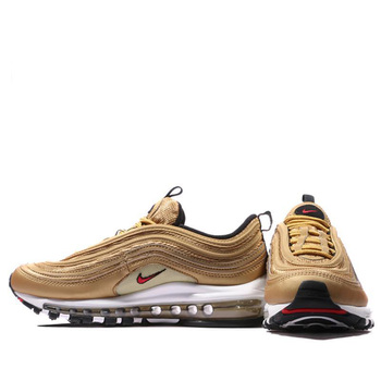 info for f7b85 3fb5c Original Authentic Air Max 97 OG Gold and Silver Bullet Women's
