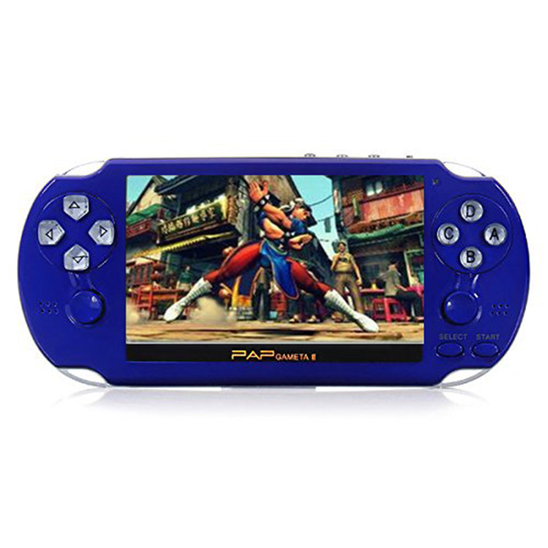 2017 New PAP Gameta II 4 1 Inches 64 Bit Vedio Gaming Console Support wireless controller