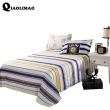 Hot Sale New Bedsheet Only 1Piece 100%Cotton Bed Sheet Without Pillow Wedding Fitted or Flat Sheet 160x230cm 230*245cm 240x265cm