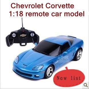 118 chevrolet corvette rc car model children remote control car classic electric