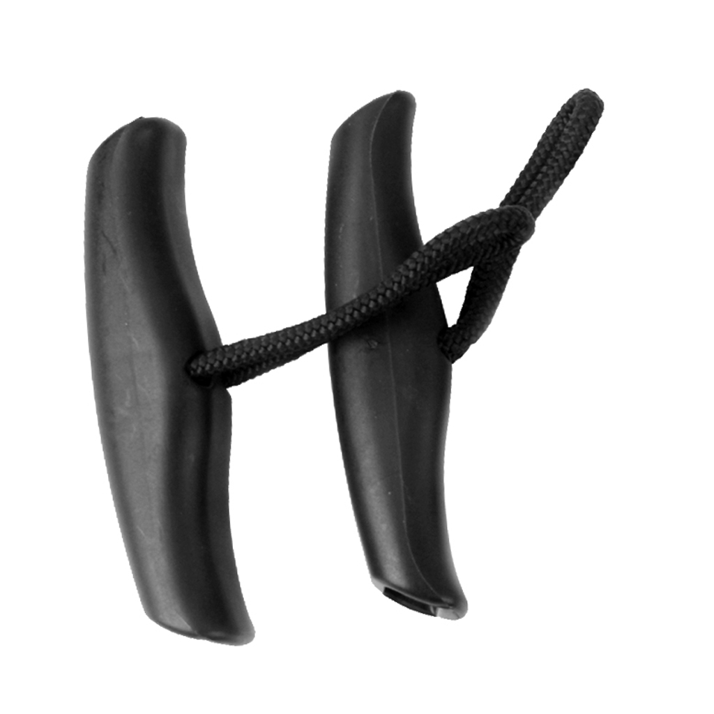 2Pcs Durable Nylon Kayak Marine Boat Canoe Pull Handle Carry Handle W/ Cord Water Sports Accessories