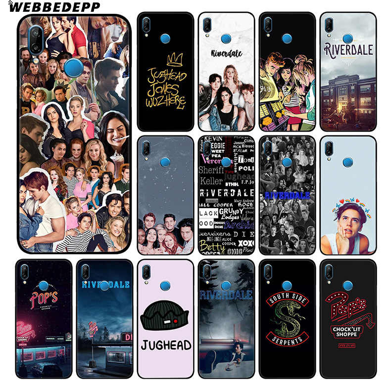 WEBBEDEPP Riverdale Tv Show Soft Case For Huawei P30 P20 Pro P10 P9 Lite 2017 P Smart 2019 & Nova 3 3i Y9 2019
