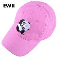 Unisex panda hip hop mũ phụ nữ động vật snapback hats đối với phụ nữ bông mũ bóng chày người đàn ông giản dị cha hat xương gorras