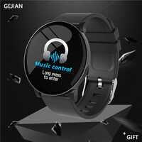Newsmart relógio masculino smartwatch ip67 à prova dip67 água monitoramento de freqüência cardíaca pulseira de fitness esporte smarrt relógios para ios xiaomi android