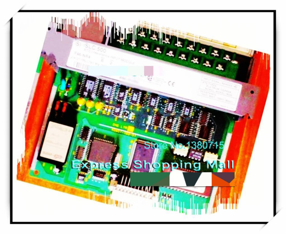 New Original 1746-NR4 PLC 50mA 4 Number of Inputs Resistance Analog Input Modul 1746 ib16 plc 10 30 dc sink 16 number of inputs new original