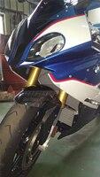 Переднее крыло Hugger грязь охранник для BMW S1000R 2014 15 16 17 2018 S1000RR 2009 2014 15 16 2017 2018 полный углеродного волокна 100% твил
