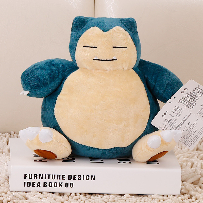 Costume Props Anime Game Pokemon Pikachu Snorlax Cosplay Props 10 Styles Cute Elf Baby Pet Toys Plush Doll Pillow Kids Teens Gift Decoration