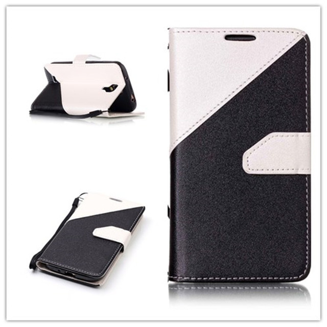 Case Leather Flip Back Cover for Samsung Galaxy S4 S 4 GalaxyS4 I9500 I9505 I9506 I9515 GT-I9500 GT-I9505 GT-I9506 GT-I9515 Bags
