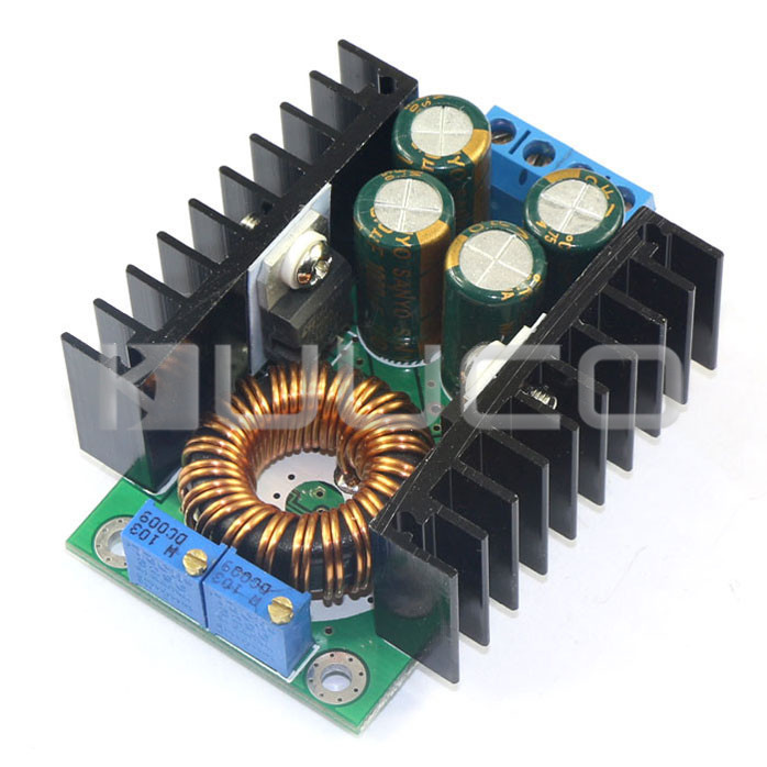 Power Adapter/Charger DC 7~40V to DC 1.2~35V 8A 300W Adjustable Voltage Regulator Buck Converter Module Laptop Power Supply nc dc dc dc adjustable voltage regulator module integrated voltage meter 8a voltage stabilized power supply