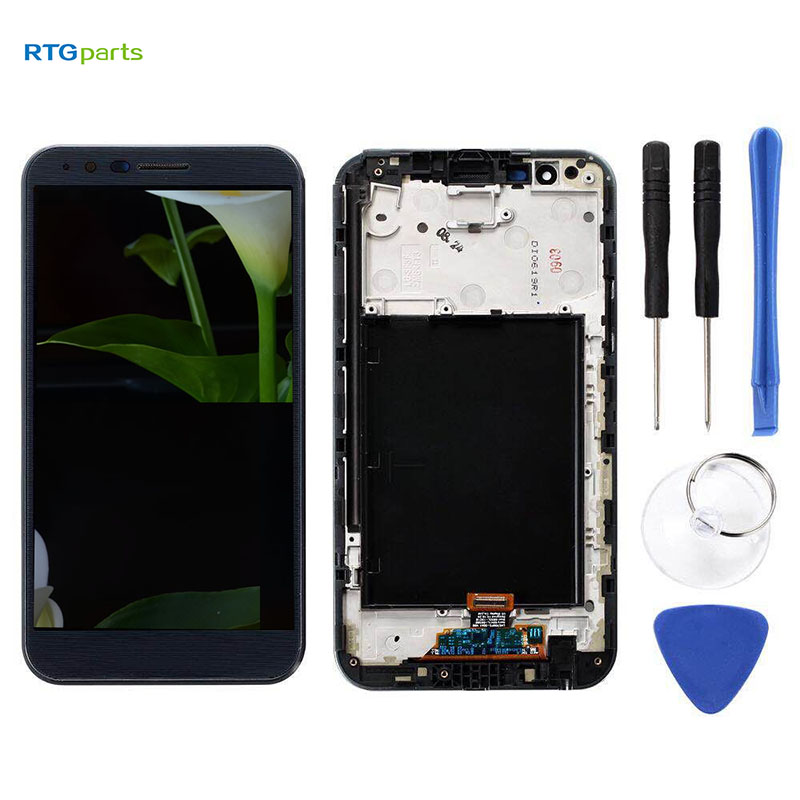RTGparts LCD Touch Screen Digitizer Assembly For LG Stylo 3 Plus TP450 MP450 M470 M470F with FrameRTGparts LCD Touch Screen Digitizer Assembly For LG Stylo 3 Plus TP450 MP450 M470 M470F with Frame