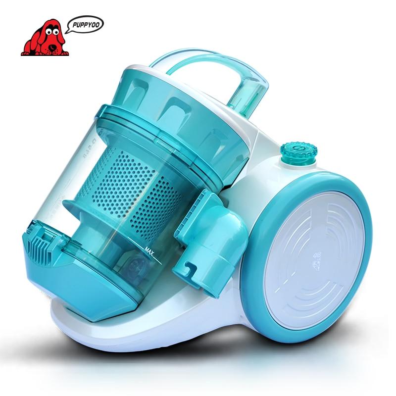 PUPPYOO A Basso Rumore Aspiratore Acari-uccisione Brush Vacuum Cleaner per la Casa Aspirapolvere Potente Aspirazione Collettore di Polveri WP968