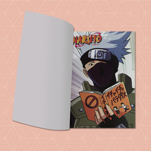 Kakashi Cosplay Notebook