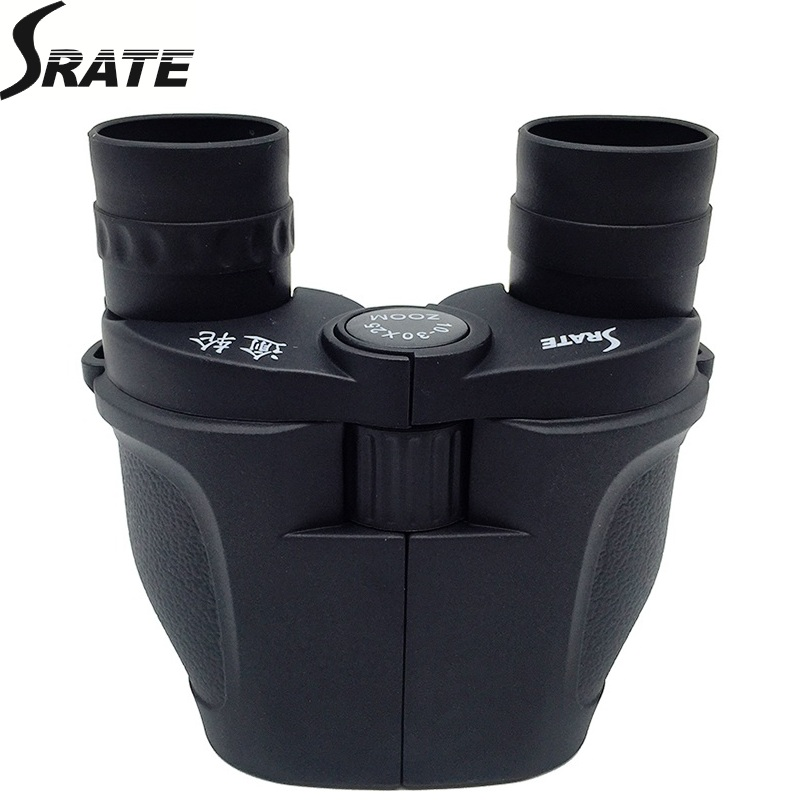 10x-30x Zoom Binoculars Zoom Coated Porro Professional Hight Power Binoculars Telescope Optical Binoculars for Hunting BAK4 Lens