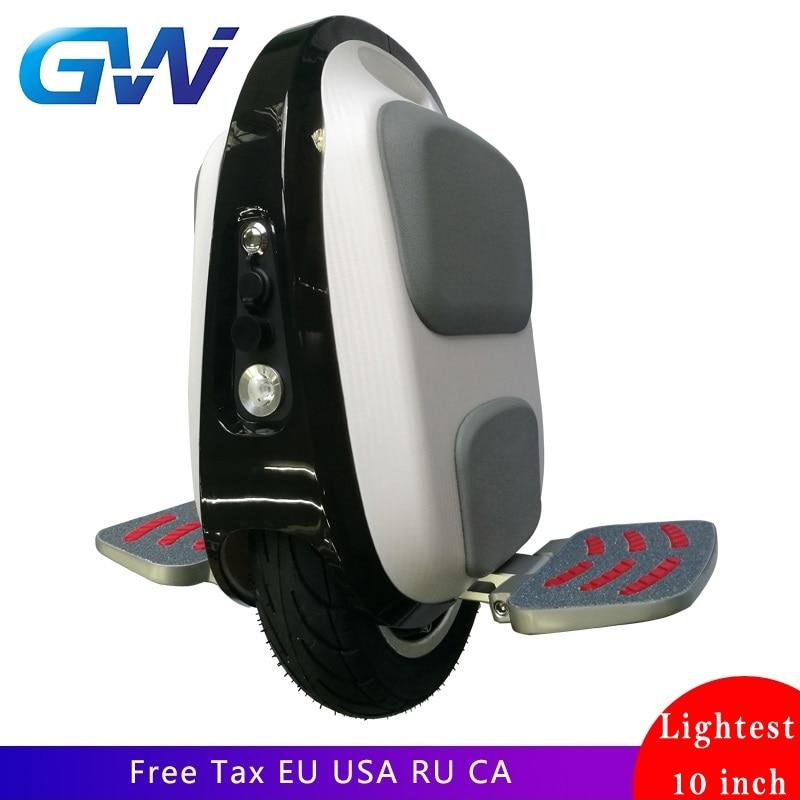 Gotway Luffy Mten3 84 V Mini monocycle électrique 10 pouces poids 10 kg vitesse max 40 km/h, durée de vie 40-50 km, lumière LED, permettre l'enregistrement des avions