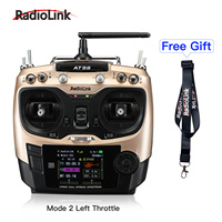 Radiolink AT9S 10CH RC Transmitter and Receiver R9DS 2.4G Radio Controller for Drone/Multicopter/Helicopter Airplane Mode 2