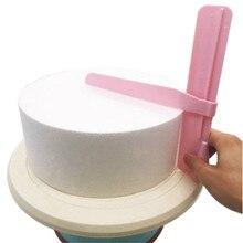 4YANG Cake Scraper Smoother Adjustable Fondant Spatulas Edge Cream Decorating Bakeware Tableware Kitchen Tool