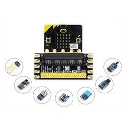 BBC micro: bit sense pack  wyposażony w złącze krawędziowe  kilka powszechnie używanych czujników.