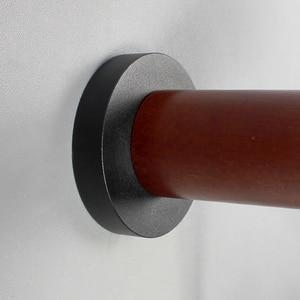 Image 5 - Aisilan Lámparas LED de pared para sala de estar, dormitorio, pared del pasillo, apliques de luz, Bombilla E27, luz de pared nórdica de madera
