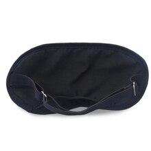 Bamboo Charcoal Sleep Eye Mask For Travel Rest Length Adjustable Sleeping Aid Blindfold Bandage Eyepatch Gift For Man Women