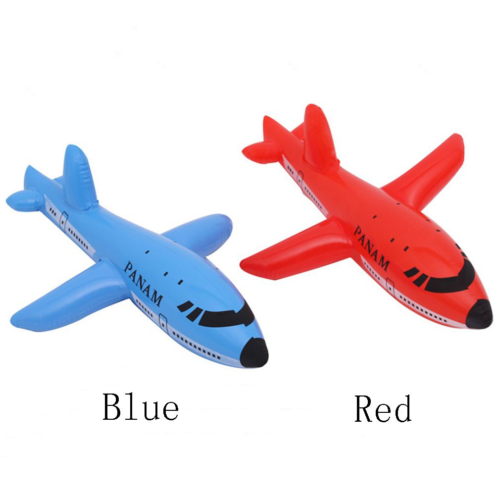 Inflatable Aircraft Cartoon Plane Airliner Pvc Plastic Balloons