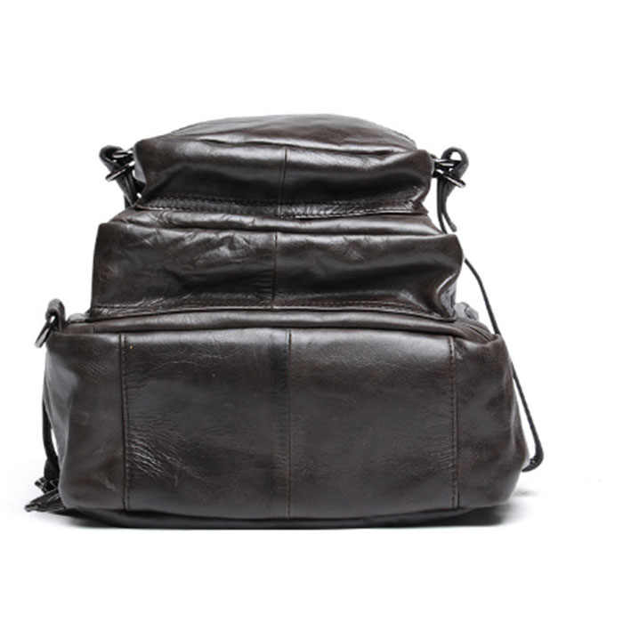 Мужские сумки на плечо из натуральной кожи цвета хаки, мужские сумки большой емкости, мужские s рюкзак для путешествий, повседневные мужские рюкзаки, дорожный Рюкзак mochila