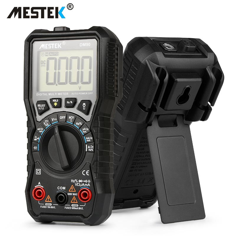 MESTEK DM90 mini-multimeter digital multimeter auto range tester multimetre multi meter multitester besser als PM18C