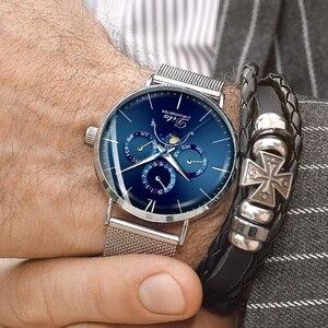 Image 5 - 2020 Cao Cấp Đồng Hồ Cơ Tự Động Nam Thể Thao Đồng Hồ Đeo Tay Vòng Tay Nam Reloj Hombre Tourbillon