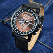 Watch Men Watch Fashion Luminous Sport Watches Leather Quartz Watch Men Hour Montre Homme Relogio Masculino