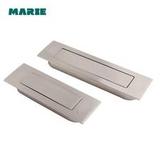 Kitchen Cabinet Drawer Concealed Handles Embedded Furniture Door Knobs Wardrobe Stealth Handle Cupboard Closet Dresser Pulls