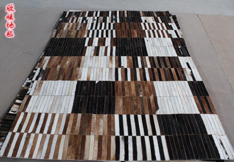 Fashionable art carpet 100% natural genuine cowhide leather golf matFashionable art carpet 100% natural genuine cowhide leather golf mat