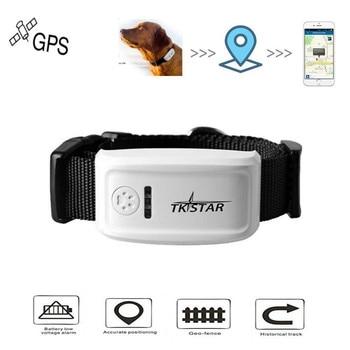 Dropshipping localizador Global en tiempo Real rastreador GPS para mascotas perro/gato SEGUIMIENTO DE Collar GPS