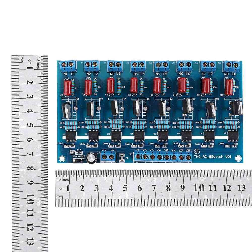 LEORY 8CH قناة PLC DC الناتج الترانزستور مكبر للصوت العزلة ألواح مسطحة 5-24V