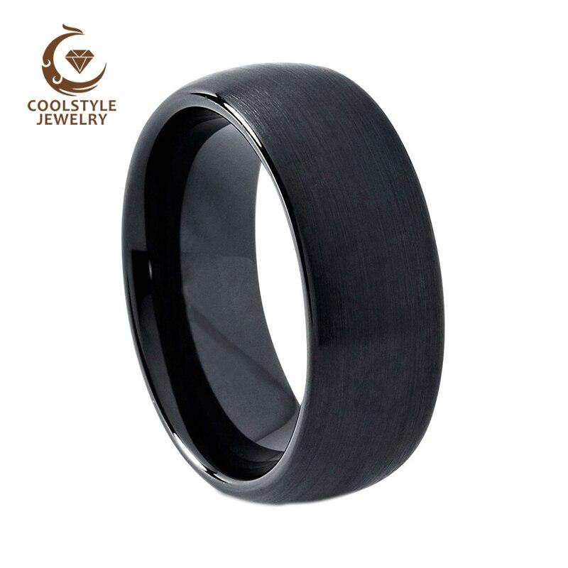 Popular Tungsten Black Wedding BandsBuy Cheap Tungsten Black