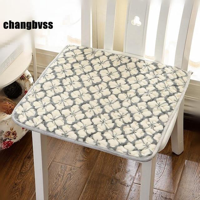 Hot 40x40cm Cheap Floor Chair Cushion Car Mat,Kitchen Chair Cushions Sofa  Mat,Modern