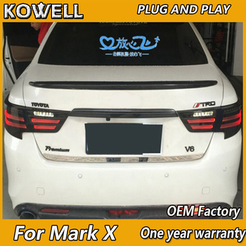 KOWELL Car Styling Tail Lamp for Reiz Mark X LED Tail Light 2013-2015 Reiz LED Rear Lamp LED DRL+Brake+Park+Signal Stop Lamp