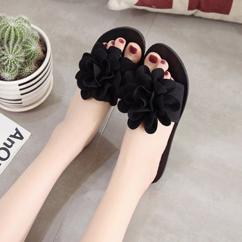 E Women's Slippers fashion style summer outside pu Women's Slippers good quality