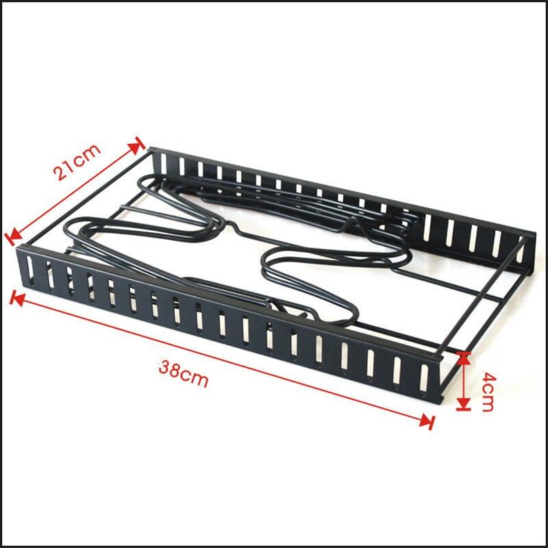 Multi-Layer Extendable Metal Pot Shelf Rack Pan Kitchen Accessory Adjustable Stand Holder Rack Shelves Storage Shelf Organizer
