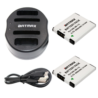 Batmax NB 11L NB 11L 11L Battery USB Dual Charger For Canon PowerShot A2300 IS A2400