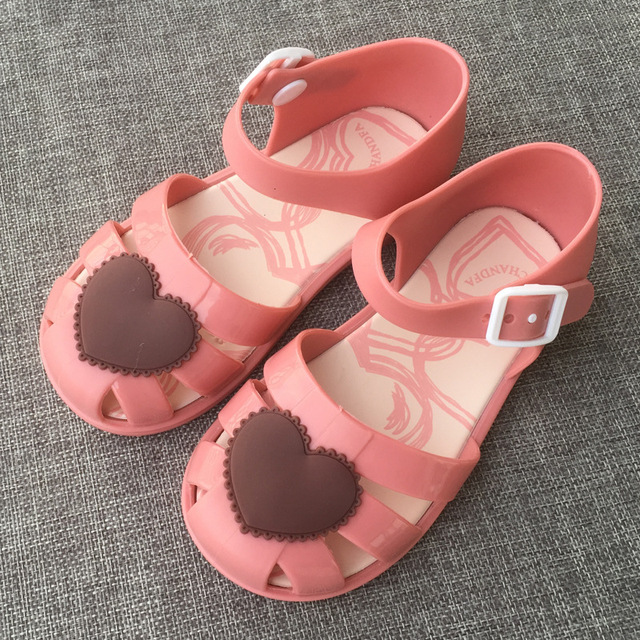 2017 Sandals Footwear Summer Cartoon Shoes Boys Girls Shoes 3 Color Jelly  Sandals High Quality Cute
